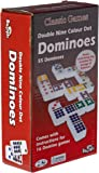 Shuffle Classic Dominoes Colored Double 9