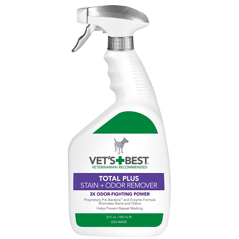 Vet's Best Total Plus Pet Stain & Odor Remover, 32 oz