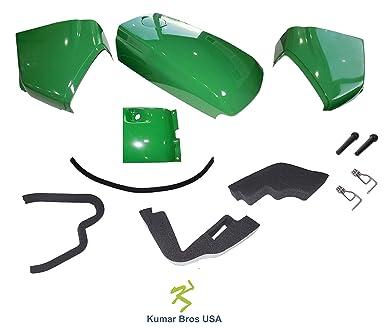 New Kumar Bros USA Upper Hood KIT Fits John Deere 4710