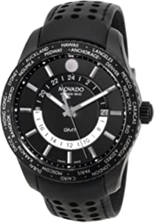 movado junior sport men s stainless steel quartz watch 0605746 movado men s 2600117 series 800 analog swiss quartz black calfskin leather watch