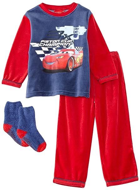 Disney - Pijama para niño, talla 4 Years - talla inglesa, color rojo