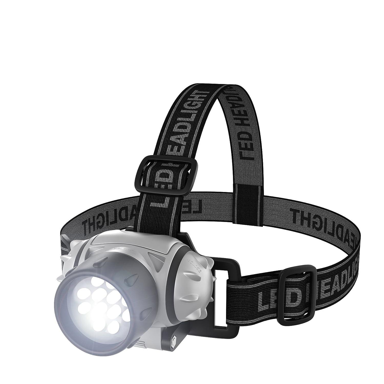 Trademark ToolsT 12 LED Headlamp with Adjustable Strap Trademark Global 75-976