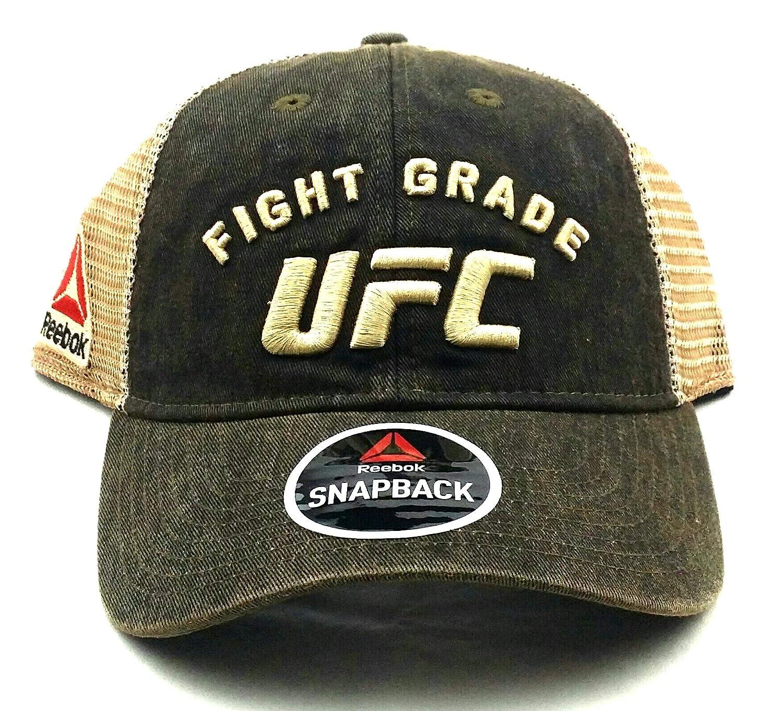 Reebok Gorra de Malla de Color marrón, de la Marca UFC, Marca MMA ...