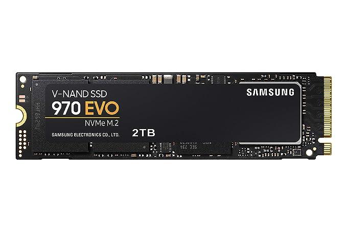 Samsung 970 Evo 2 Tb   Nv Me Pc Ie M.2 2280 Ssd (Mz V7 E2 T0 Bw) by Samsung