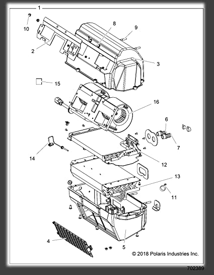 Oem Polaris Parts Diagrams