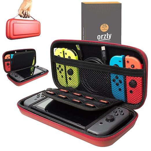 49 opinioni per Custodia da viaggio Orzly compatibile con il Nintendo Switch- Guscio protettivo