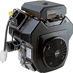 Kohler Command V-Twin OHV Horizontal Engine with Electric Start - 674cc, 1 1/8in. x 4in. Shaft, Model Number PA-CH620-3100