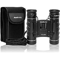 AccuBuddy Fernglas - Leichtes Mini Binocular Mit 12-Fach Vergrößerung und 26mm Objektiv Auch für Kinder Geeignet - Für Gestochen Scharfe Weitsicht