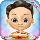 Burger B Kitchen and Bar Restaurant Kids Food Maker : burgers, barbecue skewers, ice cream and drinks ! educational game for kids and girls - FREE