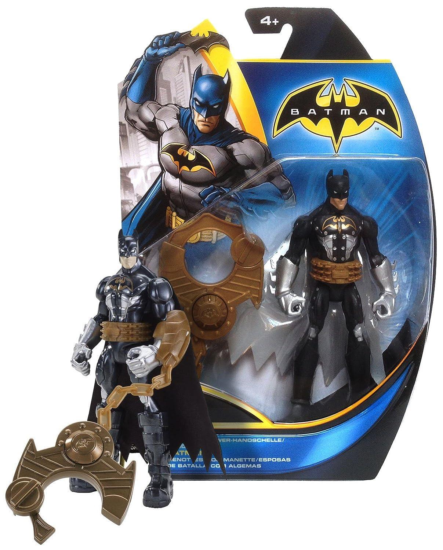 Batman Power Attack Mission Series Mattel X2301 Capture Cuff Batman ~6 Figure w// Giant Handcuff