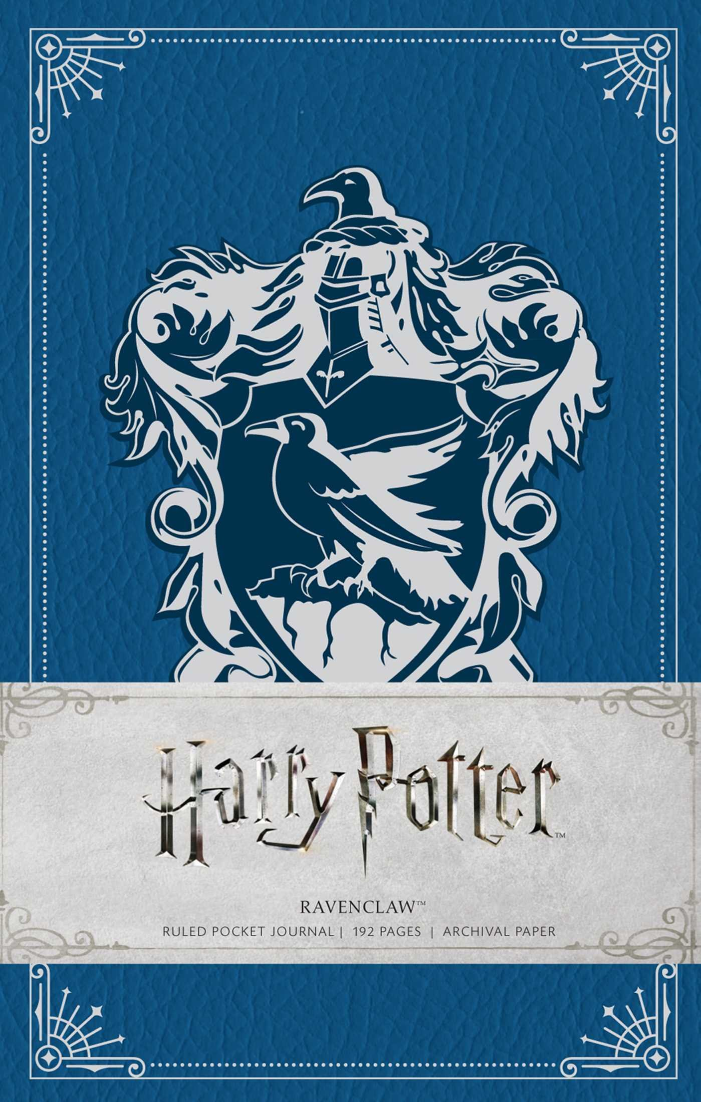 HARRY POTTER: RAVENCLAW HARDCOVER RULED NOTEBOOK (Insights Journals)