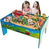 FUNPENY Train Table Toys Deals