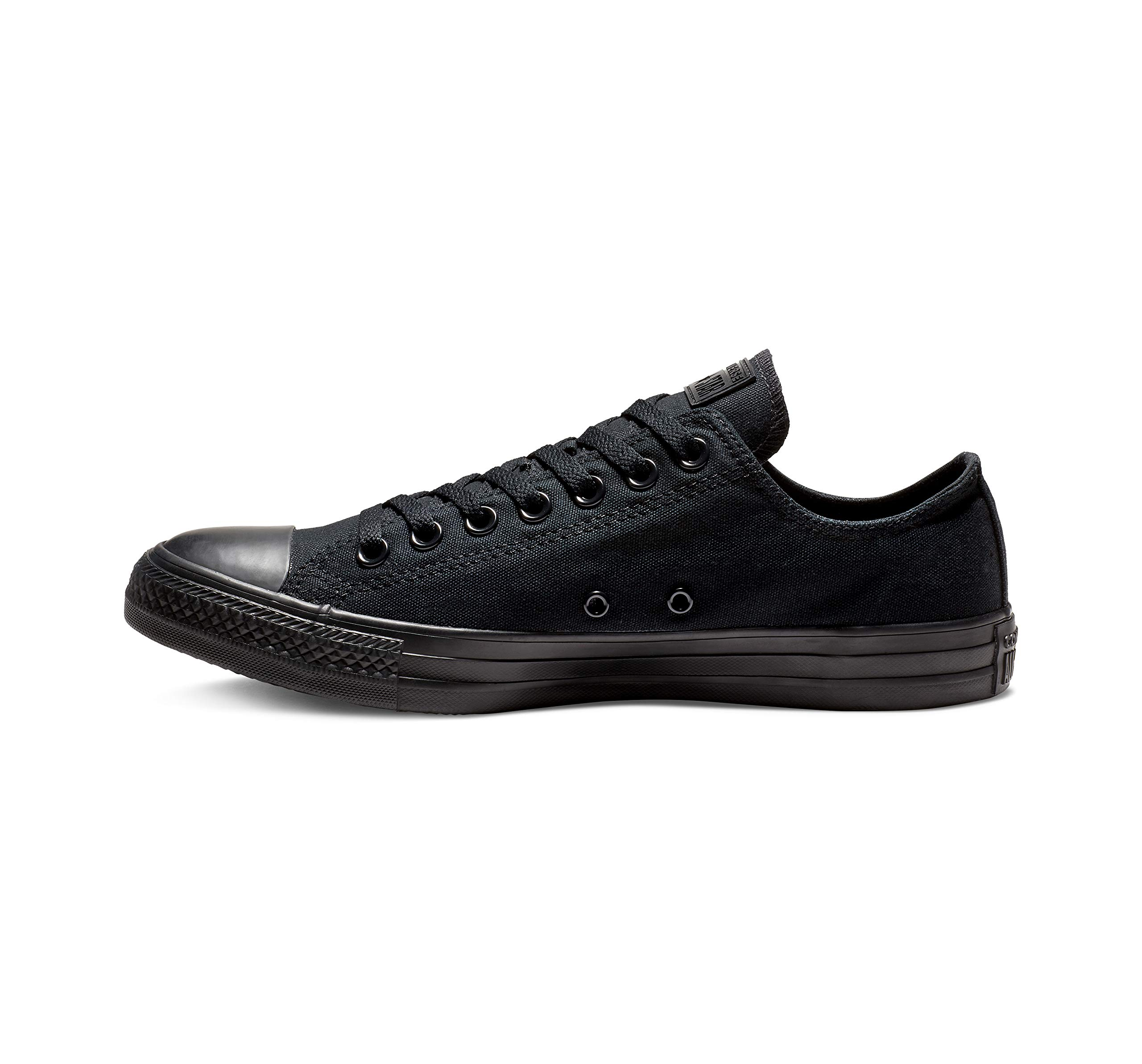 Converse Unisex Chuck Taylor All Star Low Top Black Monochrome Sneakers - 9 D(M) US by Converse (Image #1)