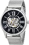 Stuhrling Original Atrium Elite Men's Automatic Watch with Analogue Display and Silver Stainless Steel Bracelet