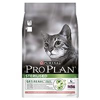 PRO PLAN Sterilised - Riche en Saumon - 3 KG - Croquettes pour chat adulte
