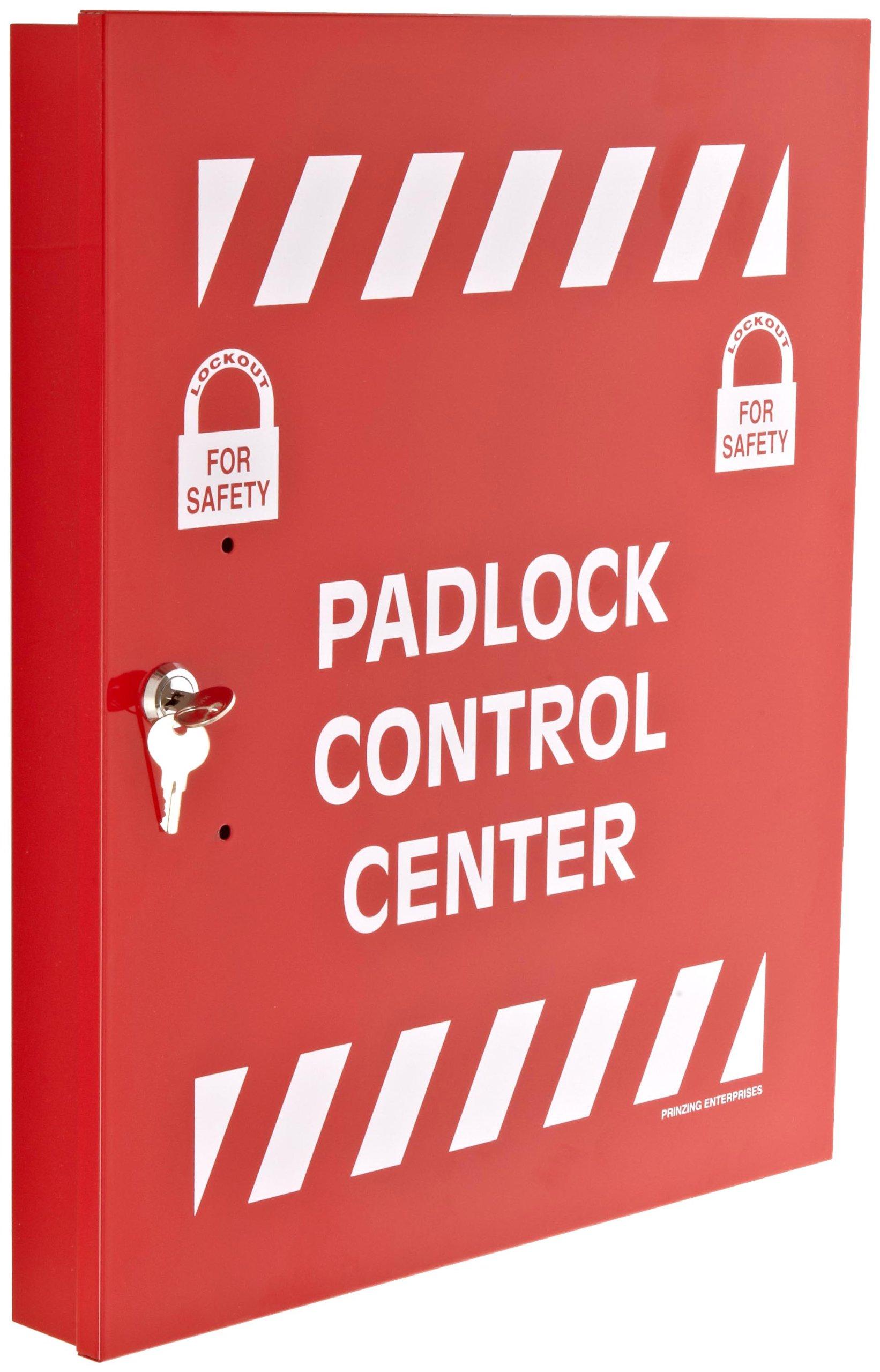 Brady Padlock Control Center, Large, 15-1/2'' Height, 18'' Width, 2'' Depth