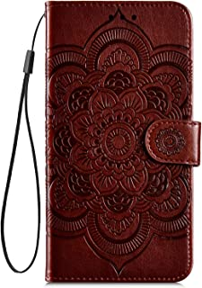 Hpory Wallet Case for Samsung Galaxy S9 Plus, 3D Bookstyle Case [Magnetic Closure] PU Leather [Butterfly Pattern] Stand Soft TPU with [Card Slots] Flip Cover for Samsung S9 Plus, Dark Purple -2