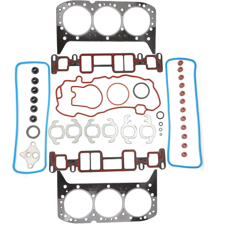 SCITOO Head Gasket Set Replacement for Chevrolet Blazer Express C1500 GMC Sierra Savana P3500 K1500 Jimmy Isuzu Hombre Oldsmobile Bravada 4.3L OHV 1996-2006 Engine Head Gaskets Kit Sets