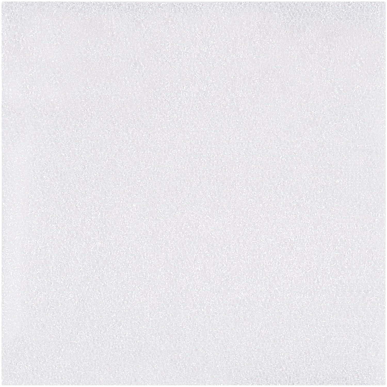 BOX USA BFS0404 Air Foam Sheets, 4' x 4', White (Pack of 3200) 4 x 4
