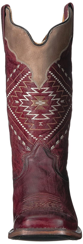Roper Women's Native Western Boot B074H8X9H4 9.5 M US|Red