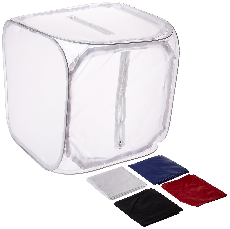 CowboyStudio Top Open 24-Inch Photo Soft Box Light Tent - 4 Chroma Key Backdrops Cowboy Studio 24 top open tent