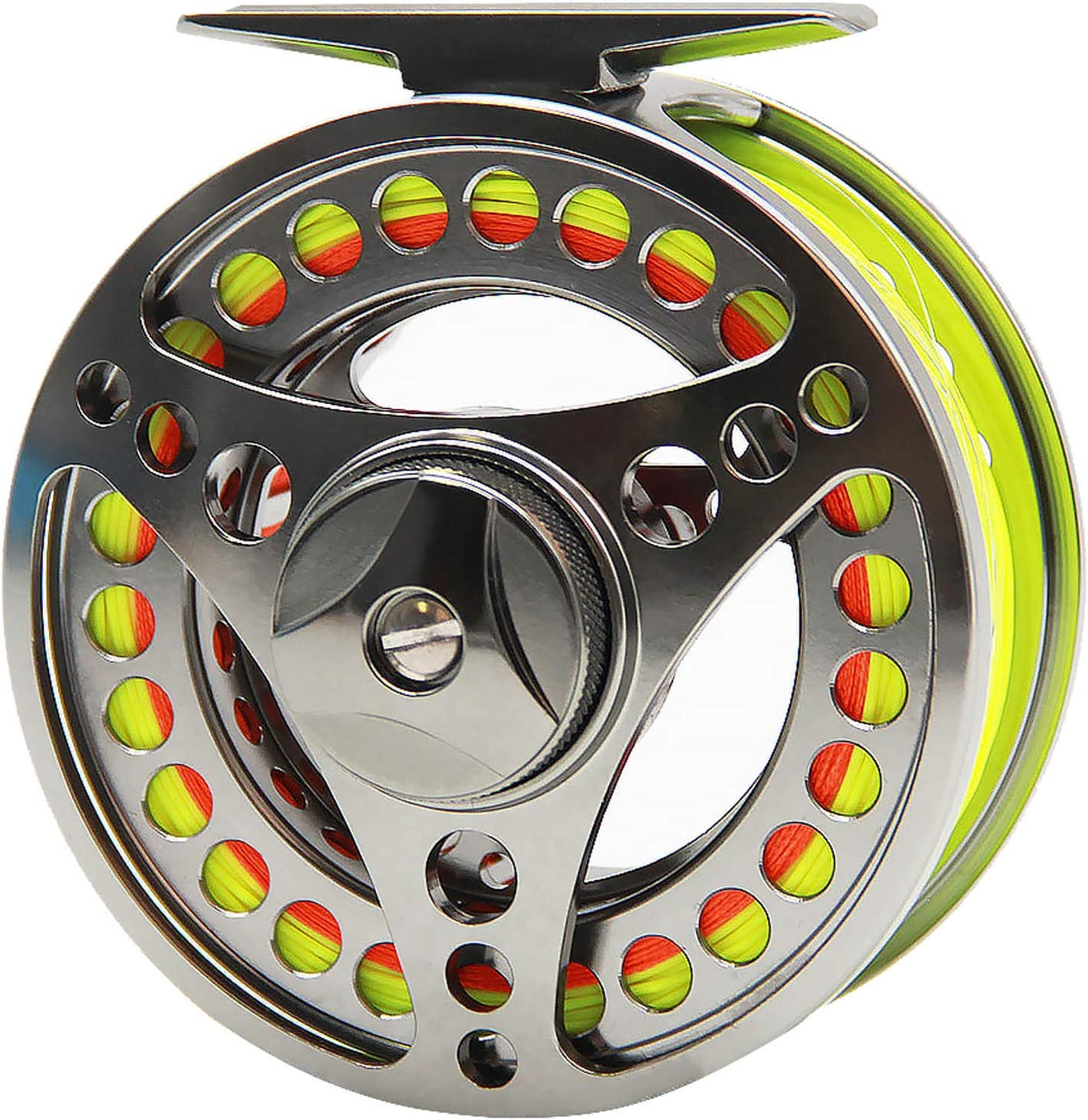 3//4 5//6 7//8WT Fly Reel and Line Combo CNC Machined Fly Fishing Reel Backing Line