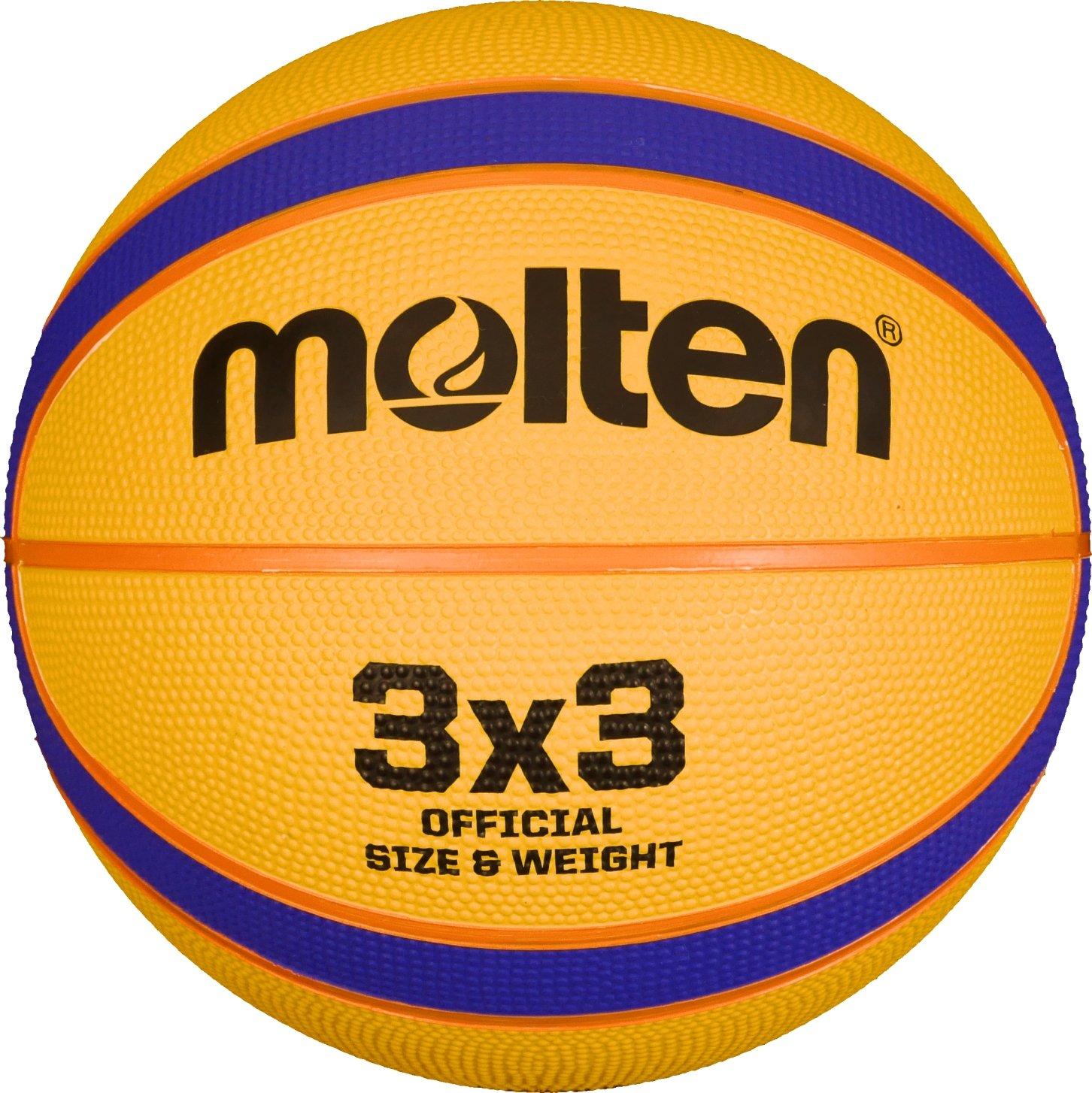 Molten Erwachsene B33T2000 Basketball, Gelb, 6 MLTN5|#molten