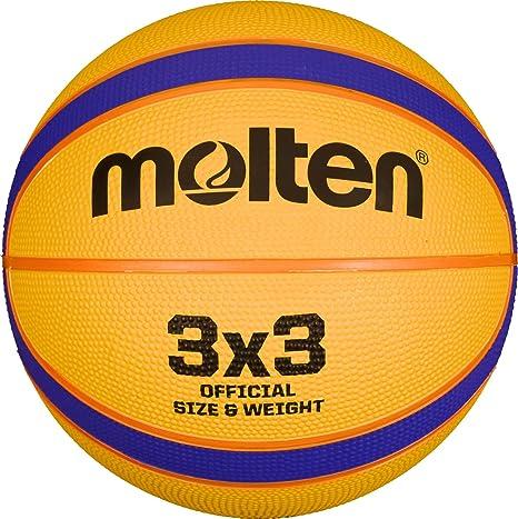 Balón Baloncesto Molten Libertria 3x3: Amazon.es: Deportes y aire ...
