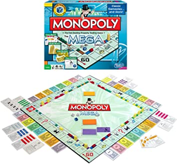 Winning Moves 1104WM Monopoly The Mega Edici-n: Amazon.es: Juguetes y juegos