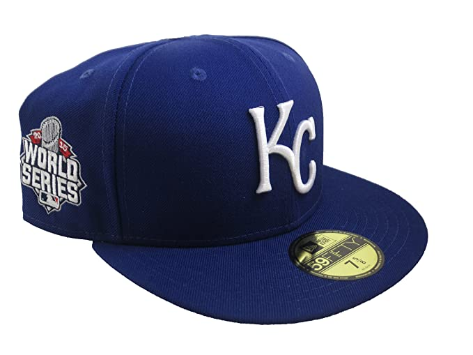 Image Unavailable. Image not available for. Color  New Era MLB Kansas City  Royals Men s Fitted Hat ... b0fa1b12d7fd
