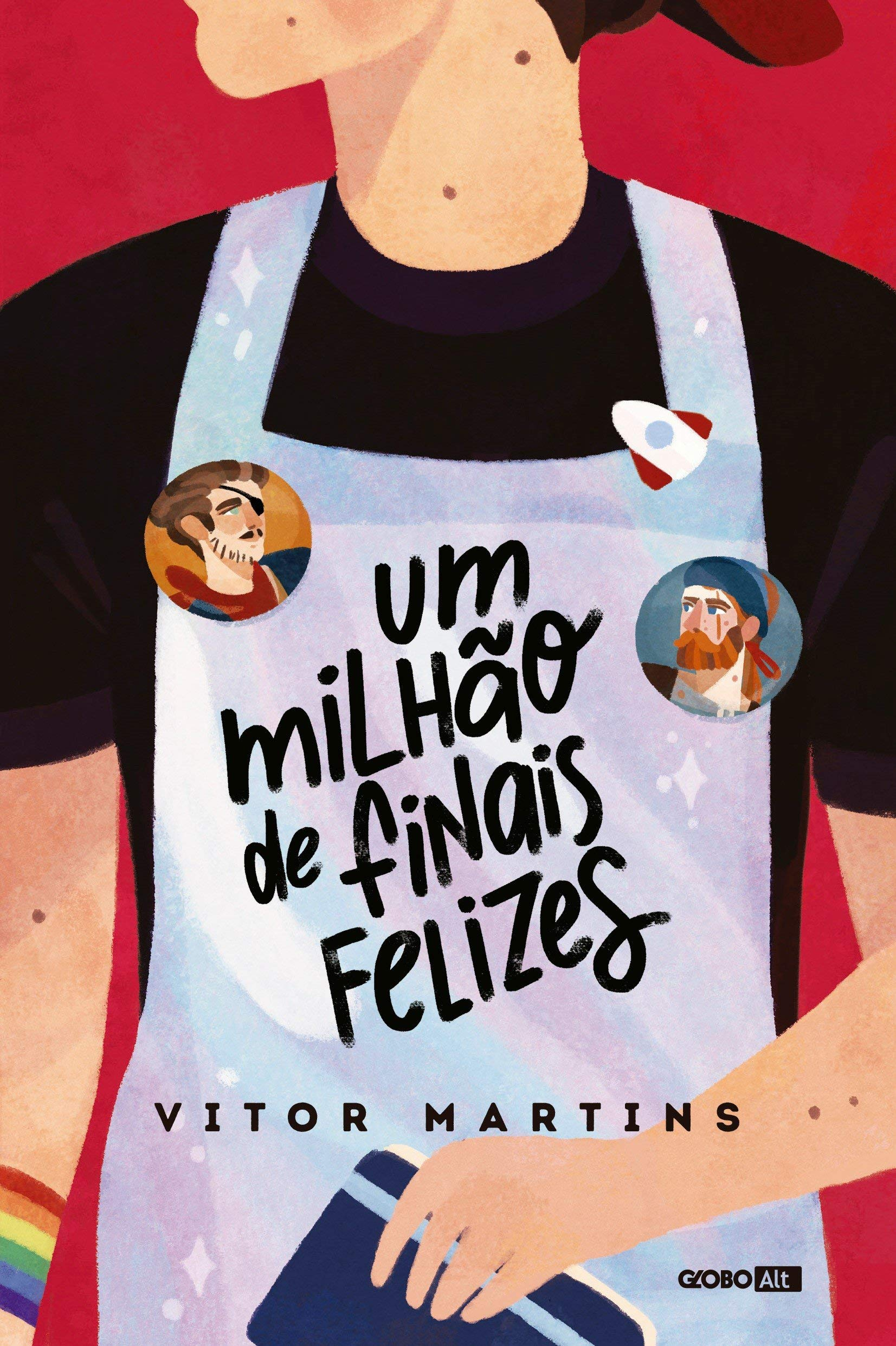 Livro 'Um milhão de finais felizes' de Vitor Martins