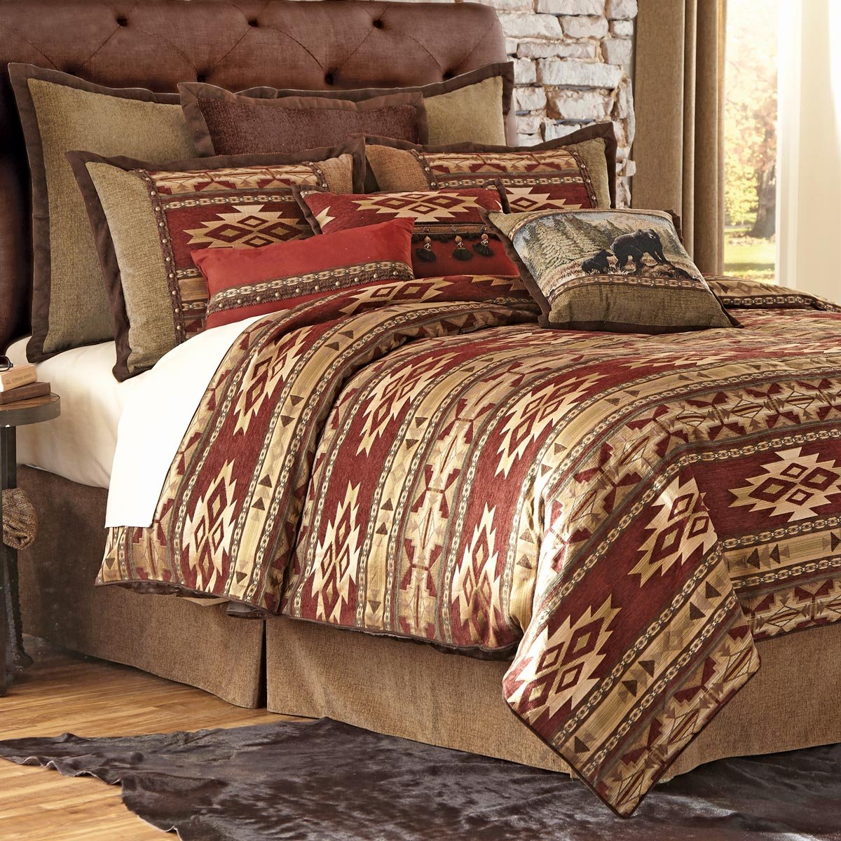 Desert Rust Comforter Set - King
