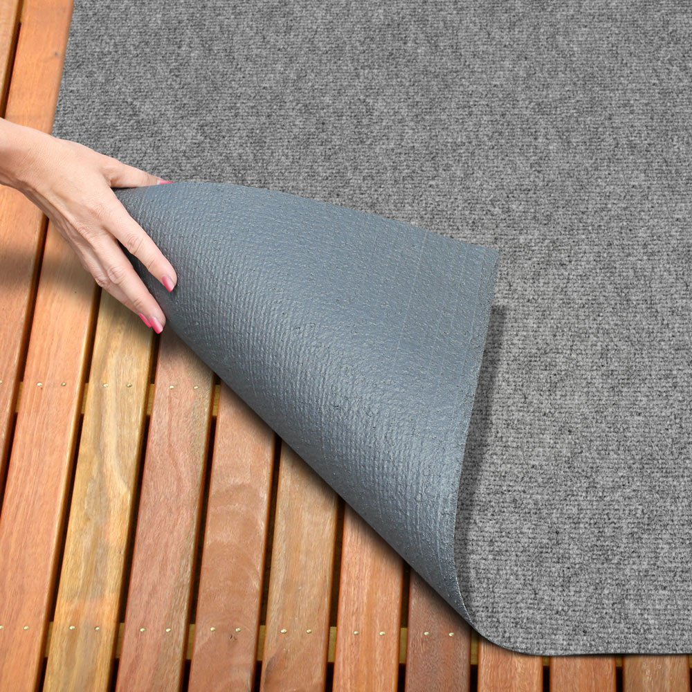 Amazon.com: House, Home And More Indoor/Outdoor Carpet With Rubber Marine  Backing   Gray 6u0027 X 10u0027   Several Carpet Flooring For Patio, Porch, Deck,  Boat, ...