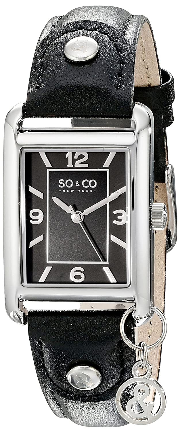 SO & CO New York Frauen Madison Analoganzeige Quarz-Uhr - 5024