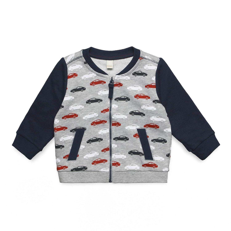 , Silber ESPRIT KIDS Baby-Jungen T-Shirt LS Langarmshirt Herstellergr/ö/ße: 68 Heather Silver 223