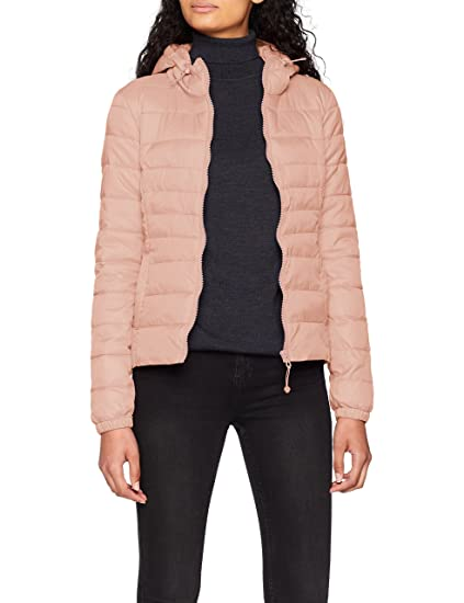 ONLY NOS Onltahoe Hood Jacket Otw Noos Chaqueta, Rosa Misty Rose, Large para Mujer