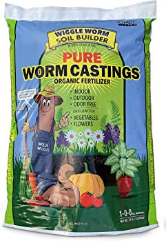 Wiggle Worm 30 pounds Compost For Garden Soil