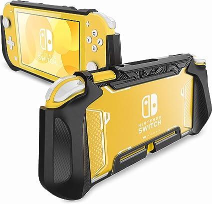 Mumba Funda Nintendo Switch Lite Case Protectora TPU Grip Compatible con Nintendo Switch Lite (Negro): Amazon.es ...