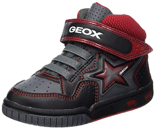 Hi Top Trainers For Boy Geox Marine Red Trainers Q9Wcn