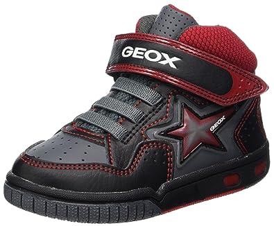 922b921d19 Geox Jr Gregg A, Sneaker a Collo Alto Bambino