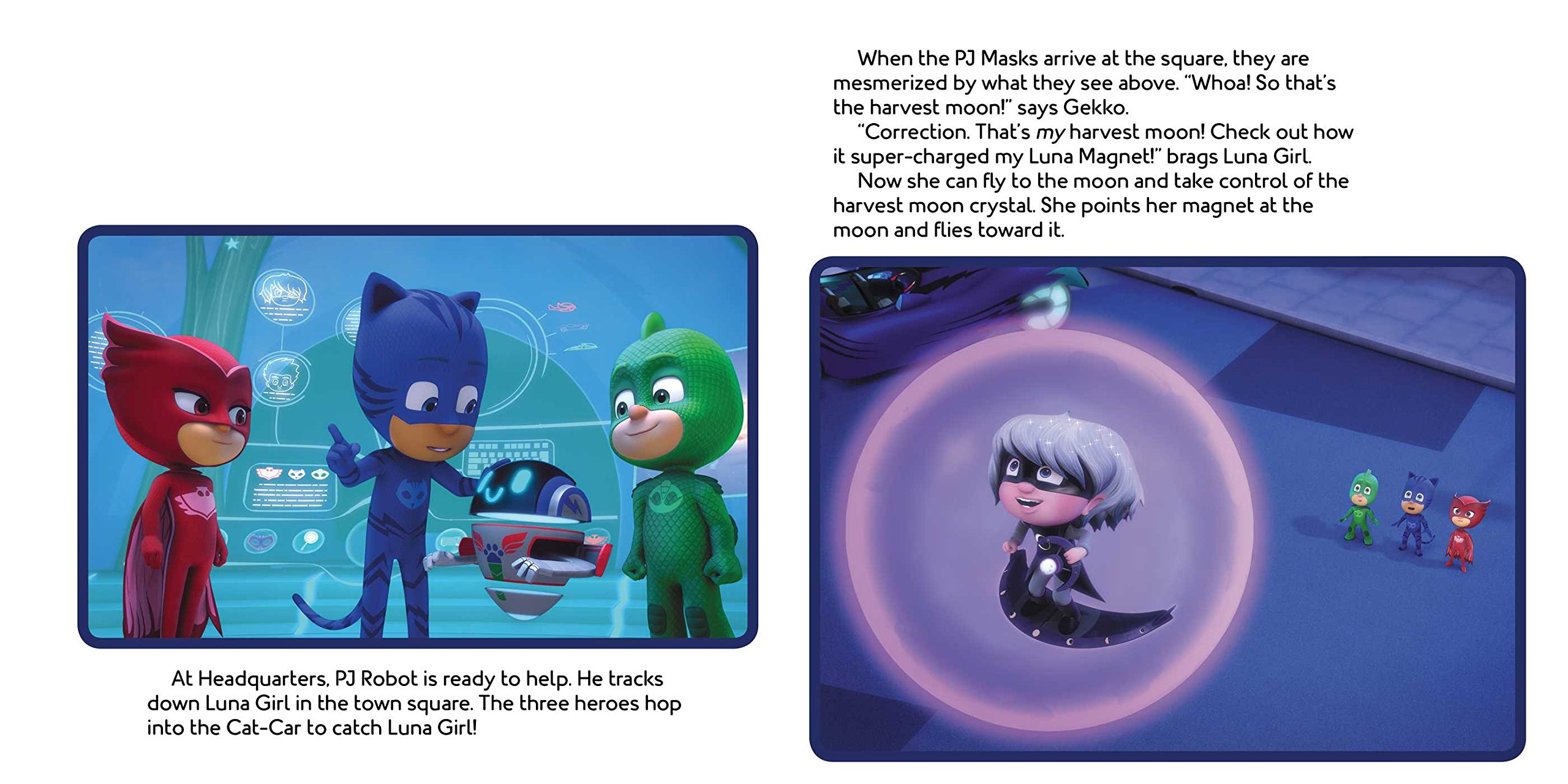 Super Moon Adventure (PJ Masks): A. E. Dingee: 9781534424609: Amazon.com: Books