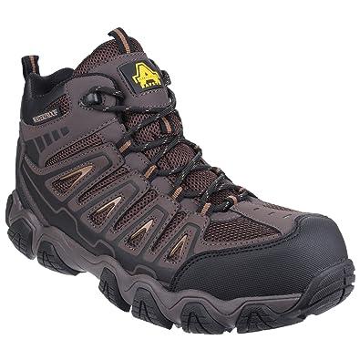 Amblers AS708 Noir - Chaussures Chaussures-de-randonnee