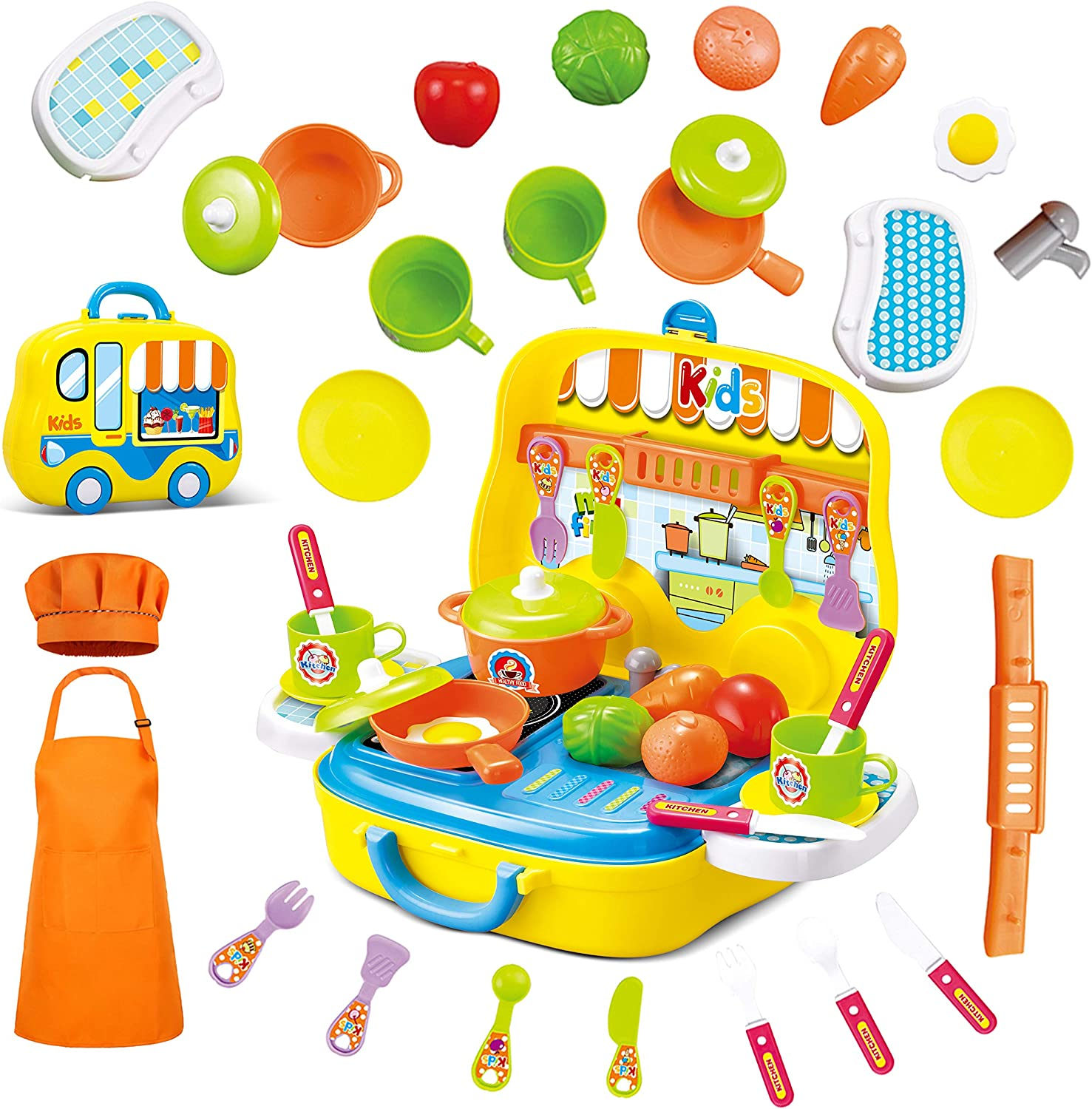 50% Coupon – 25 Pieces Kids Kitchen Playsets
