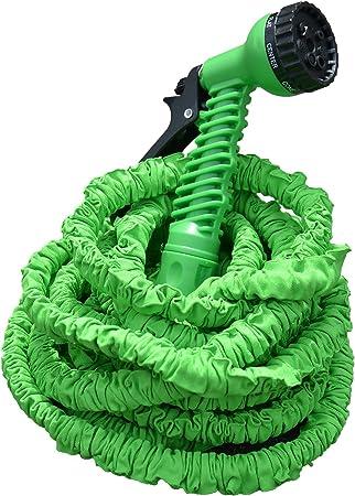 Gartenschlauch mit Brause Spiralschlauch 10m Wasserschlauch Garten Flexschlauch