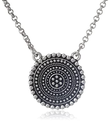 Amazon lucky brand indigo trail tribal pendant necklace 16 lucky brand quotindigo trailquot tribal pendant necklace aloadofball Choice Image