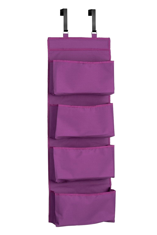 Premier Housewares 4-Tier Over Door Hanging Organiser - Purple Amazon.co.uk Kitchen \u0026 Home  sc 1 st  Amazon UK & Premier Housewares 4-Tier Over Door Hanging Organiser - Purple ...