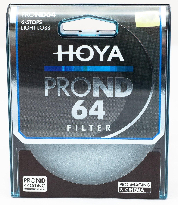 Hoya Pro ND 64 Filtro de Colores de 58 mm