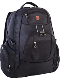 Swiss Gear International Carry-On Size Laptop Backpack - Holds Up to  17.3-Inch b746d42583aff