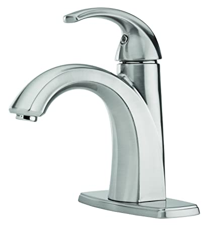 Pfister FSL Selia Single Hole Bathroom Sink Faucet Brushed - Pfister selia bathroom faucet
