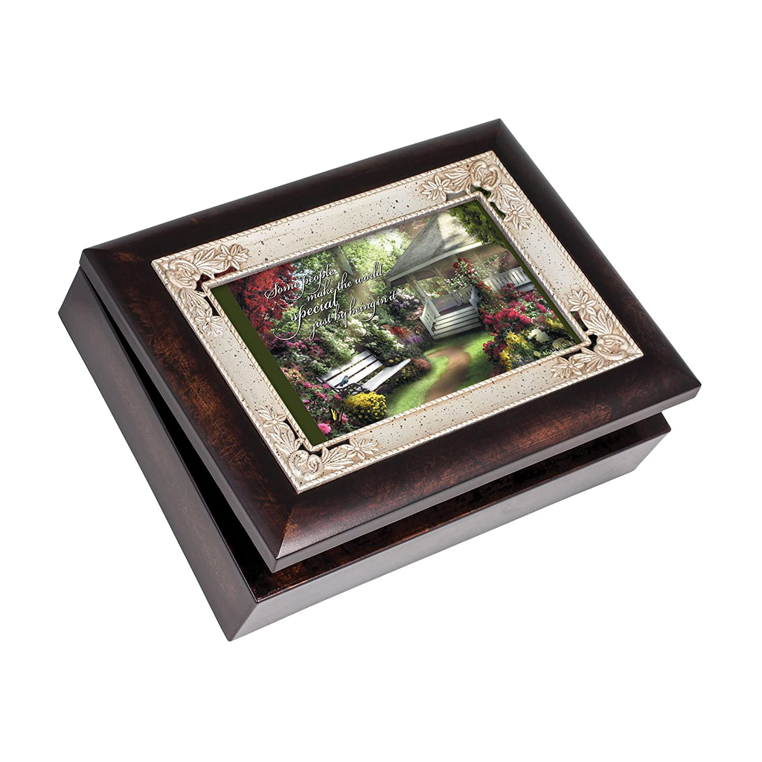 【時間指定不可】 Cottage Garden Special B00BRXBGS4 People Burlwood With Silver Plays Inlay Musical Italian Style Music Musical Jewelry Box Plays Wonderful World by Cottage Garden B00BRXBGS4, ケンタウロス:b637bfca --- arcego.dominiotemporario.com